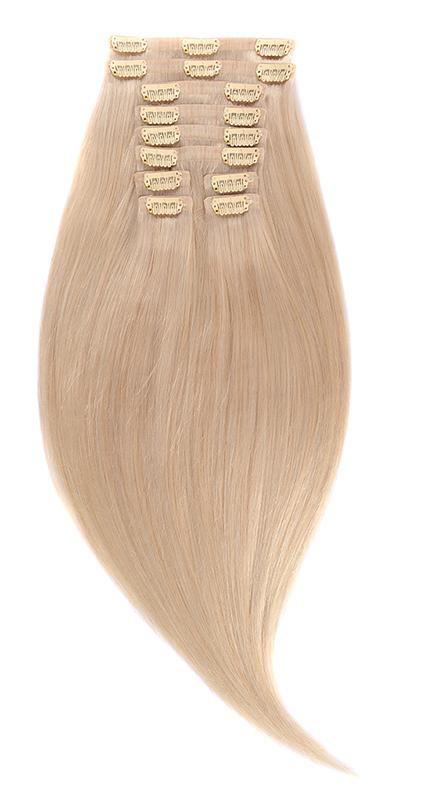 Invisi Clip-On Blond Ultra Cenusiu #Lightsilver - Luxe