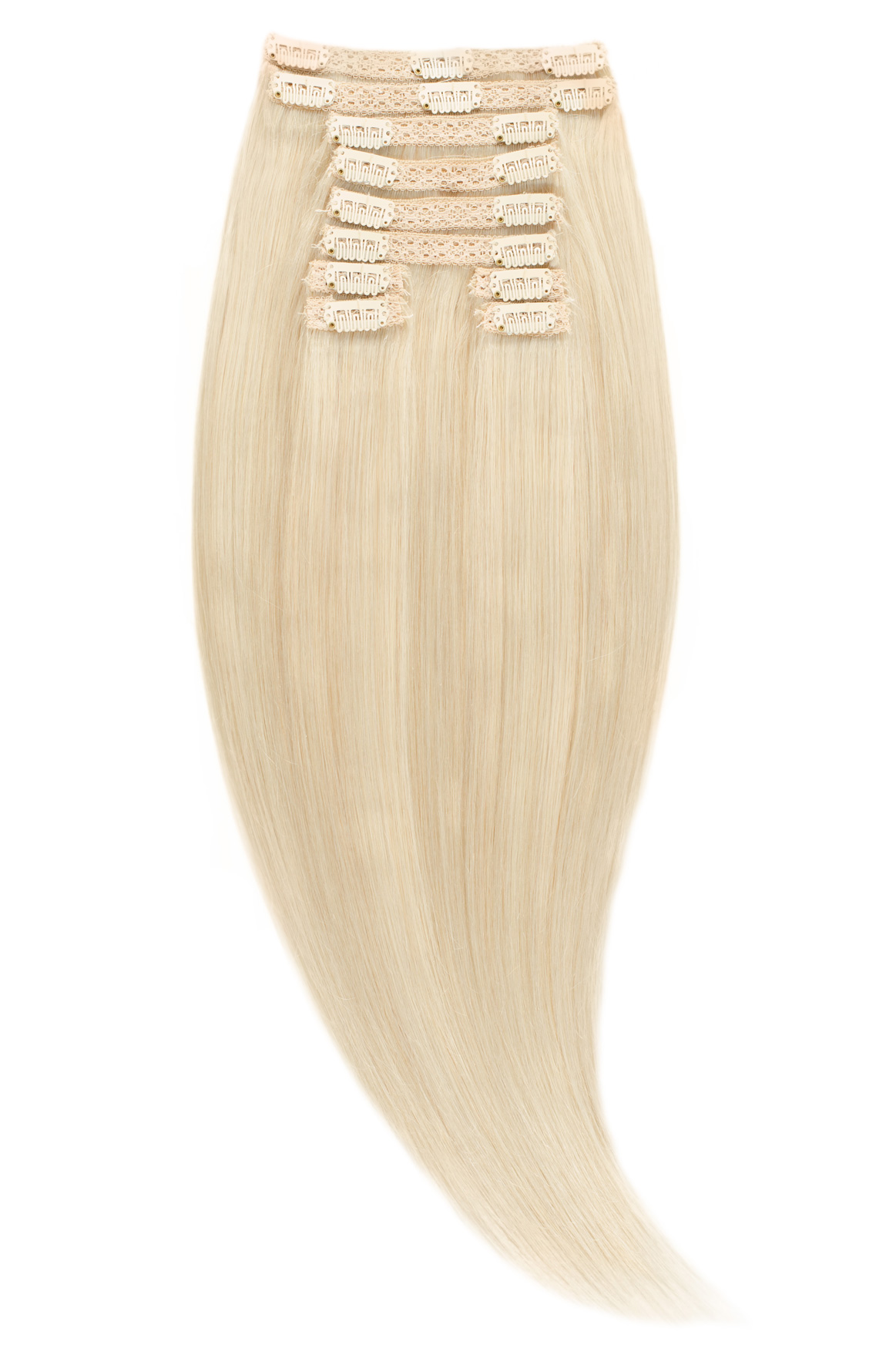 Clip-On Blond Ultra Cenusiu #LightSilver - VIP