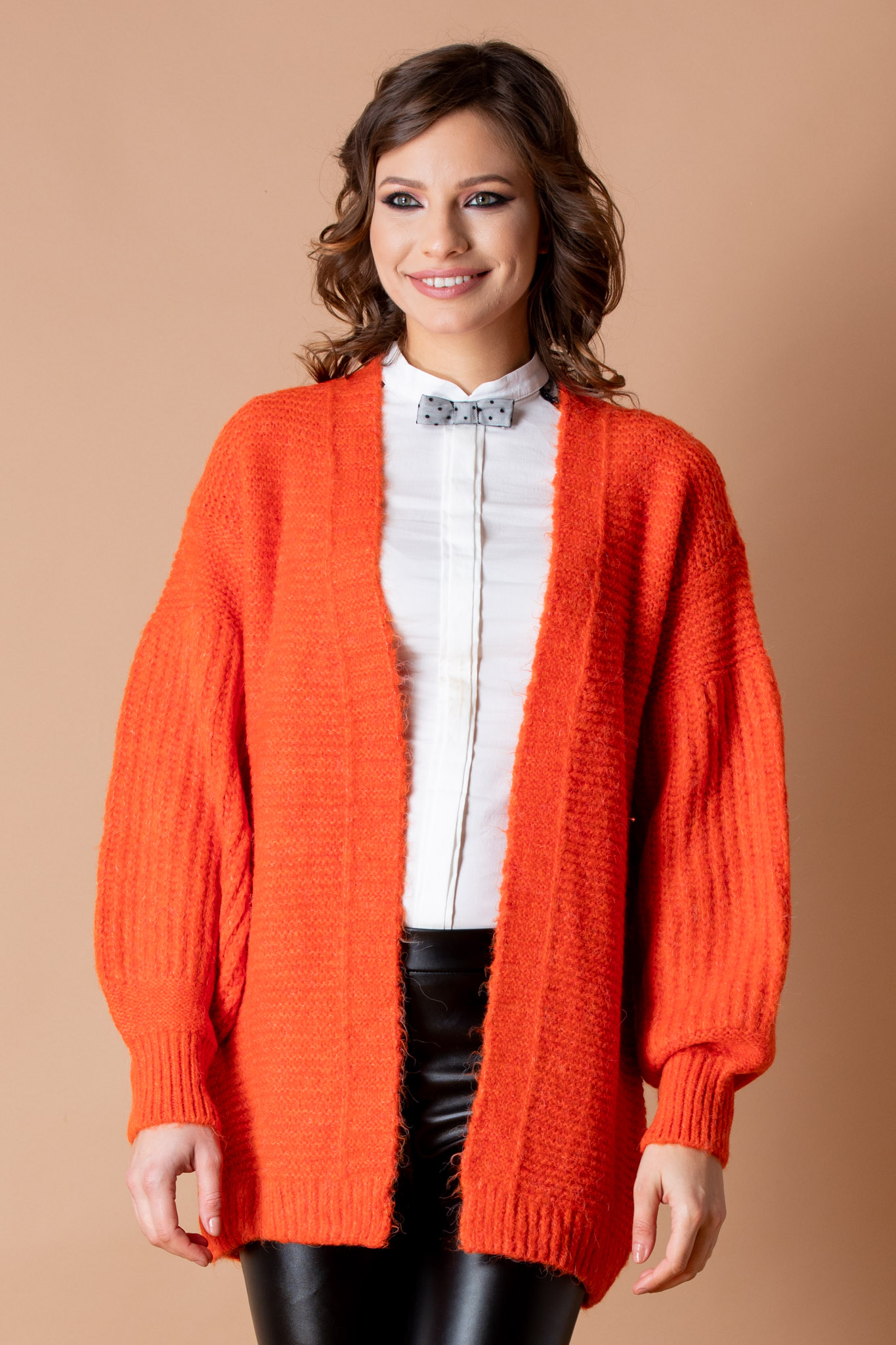 Cardigan Elyos Orange by zonia