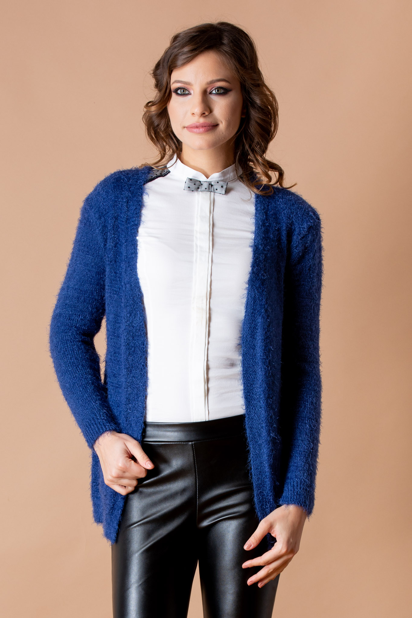Cardigan Kiss Albastru by zonia